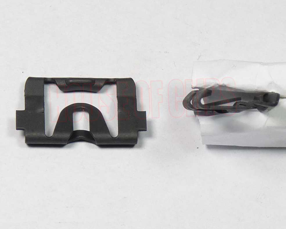 Front & Rear WINDOW MOULDING CLIPS