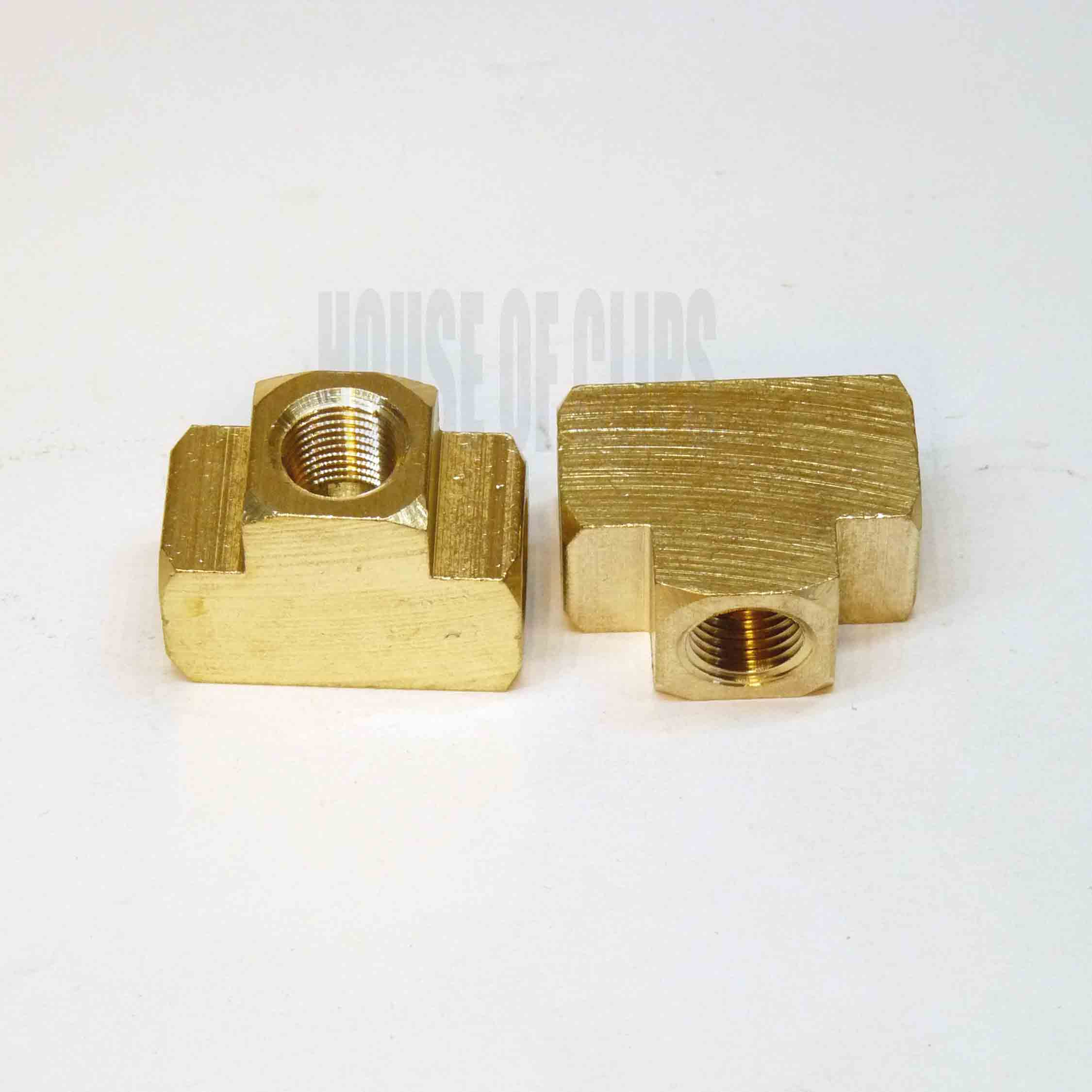 "1/8"" BRASS TEE Connector"