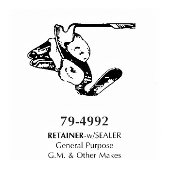 Retainer- with sealer