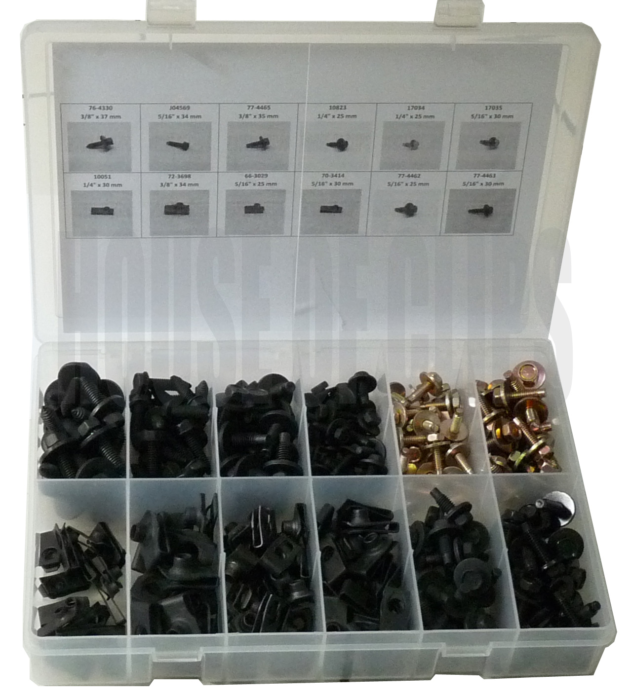 Body Bolts Assortment
